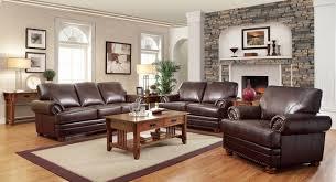 Bonded Leather Antique Brown Sofa U0026 Loveseat Living Room Set Antique Leather Sofa E13