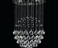 hanging crystal chandelier hanging crystal ball chandelier photo concept