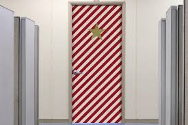 christmas office door decorating. Christmas Decorated Door Office Decorating