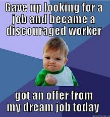 "The ""success kid"" meme shows a discouraged worker, someone who has ... via Relatably.com"