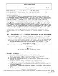Head Chef Job Description Template Jd Templates Confortable Resume
