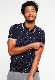 selected homme men t shirts shxarrow polo shirt navy blazer white