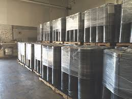 rolls of rubber cwf flooring
