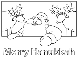 Merry Hanukkah Coloring Page Free Printable Coloring Pages
