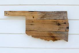 artistic wood pieces design. Rustic Wood Pieces Reclaimed Oklahoma Sign State Outline By Atxfrontporch Artistic Design