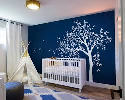 white tree wall decal large tree with