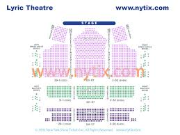 Lyric Theater Nyc Seating Chart Harry Potter And The Cursed Child Discount Broadway Tickets