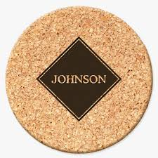 Custom cork coasters Wedding Favors Brittney Nichole Designs Custom Gifts Personalized Diamond Round Cork Coasters Shop Now