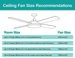 fan size for bedroom read our faq to know more about martec lights large ceiling fans