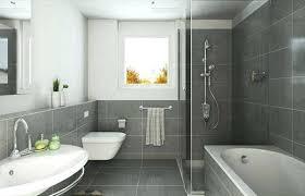small bathroom gray and white methylme