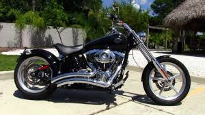 used 2009 harley davidson fxcwc softail rocker c motorcycle for