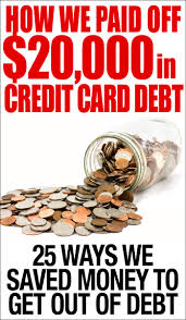 How We Paid Off 20 000 In Credit Card Debt How To Nest