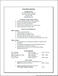 Sample Office Resume Medical Office Assistant Resume Ple Examples ...