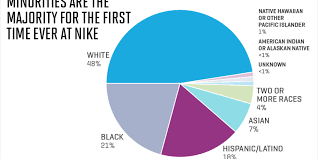 Us Population By Race 2016 Pie Chart Nikes Diversity Stats Reveal A Need For Transparency At All