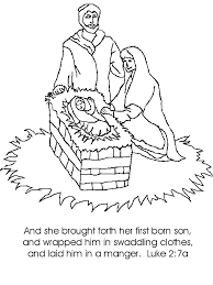 Small Picture coloring page jesus christ is born jesus coloring page mary