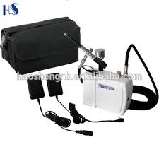 hot sell airbrush makeup machine with battery whole makeup kits