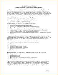 Resume For Graduate School Template High School Graduate