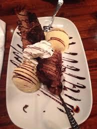 A shareable sampler of three favorites: Love Their Chocolate Stampede Dessert Picture Of Longhorn Steakhouse Douglasville Tripadvisor