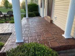 concrete patios cc concrete repair of