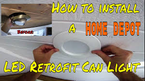 diy how to install home depot led retrofit can light kithow choose the right recessed how led recessed lighting o59
