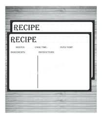 Editable Business Card Templates Free Awesome Recipe Template
