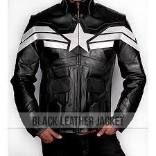 captain america the winter solr black jacket