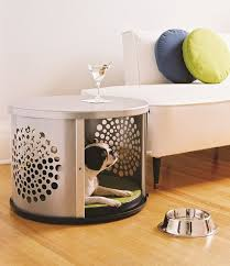furniture pet crates.  Crates Attractive Metal Dog Kennel And Wooden Crates With End Table Crate  Plus Armless Sofa Furniture Pet Crates