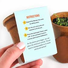 Biodegradable Paper With Flower Seeds Flower Power Seed Paper Sprouter Kit Grow Kits Catalog