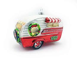 Amazonde Baumschmuck Wohnwagen Baumkugel Caravan