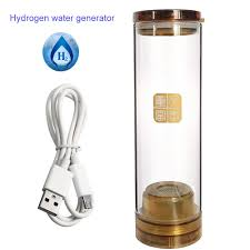 Glass implanted quantum Hydrogen Rich cup <b>600ML</b> USB ...