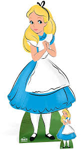 Alice You Size Chart Star Cutouts Sc853 Classic Alice In Wonderland Classic Cardboard Cut Out