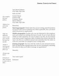 General Resume Cover Letter Templates - Fast.lunchrock.co