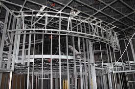 metal studs framing. re: metal stud framing with usg drywall suspended ceiling grid studs