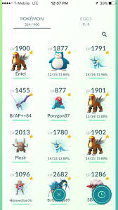 Entei Evolution Chart Do You See A Pattern With My Entei Cathches Pokemon Go