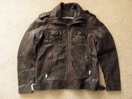 superdry uk official superdry jacke mens ms5jy034 dark brown black leather jacket 2xl nwt da superdry guarantee superdry coats t
