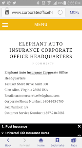 elephant car insurance claim phone number 44billionlater