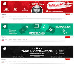 Youtube Template Psd 15 Best Youtube Channel Art Banner Psd Template Designyep