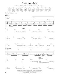 Simple Man Strumming Pattern