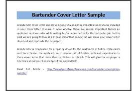 Budtender Cover Letters Example Best Bartender Cover Letter Sample