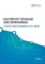 Ced Frequency Allocation Chart Electricity Storage And Renewables Costs And Markets To 2030