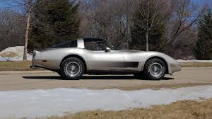 1982 Chevrolet Corvette Collector Edition | T182 | Indy 2015