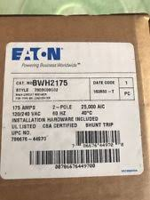 cutler hammer electrical circuit breakers & fuse boxes ebay Eaton Fuse Box new in box eaton cutler hammer bwh2175 2 pole 175 amp main circuit breaker eaton fuse box 200 amp