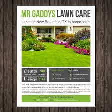 lawncare ad lawn care advertising flyers luxury lawn mowing flyer template