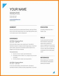 Impressive Resume 001 Template Ideas Cv Format Word Resume Samples Download In