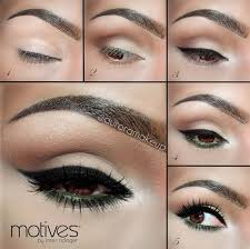 wedding makeup for brown eyes pin up makeup tutorial with motives cosmetics romantic