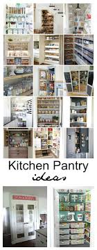 Kitchen Pantry Organization 20 Kitchen Pantry Ideas To Organize Your Pantry