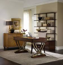 Living Room With Desk Hooker Furniture Home Office Palisade Writing Desk 5183 10458