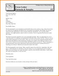 Collection Of Solutions Sample Job Application Letter Pdf For Your