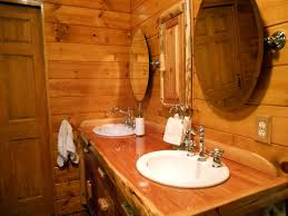 Cabin Bathroom Log Cabin Makeover Fox Den Rd