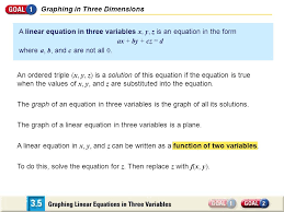 5 graphing in three dimensions